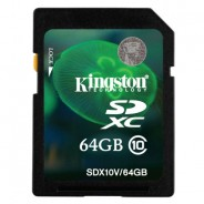 Kingston 64GB – 128GB SD Card